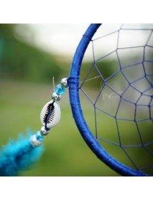 Attrape Rêve Traditionnel Bleu 4