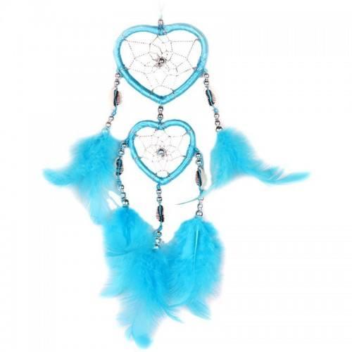 Attrape Rêve Coeur Bleu