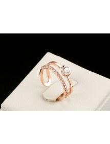 Ring Adjustable Bridal Color Or_Rose 2