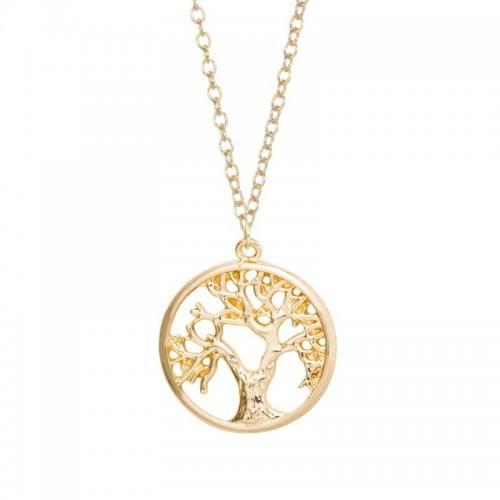 Collana Albero della Vita - Retro - Oro