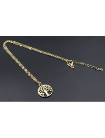 Necklace - Tree of Life - Retro Gold 3