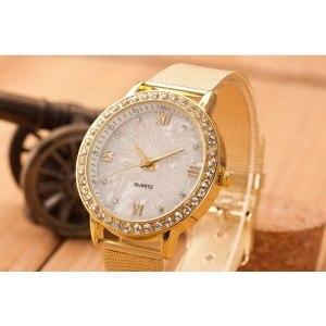 Orologio Donna - Golden Lady - Maglia In Acciaio Inox - Oro 3