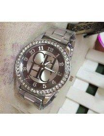 Montre Femme - Silver Diamonds - Luxe - Acier Inoxydable - Argent