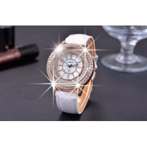 Watch Woman - Quicksand QuickSand - Beads - Faux-Leather-White-2