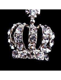 Piercing Nombril - Couronne de Diamants - Acier Chirurgical - Argent 3