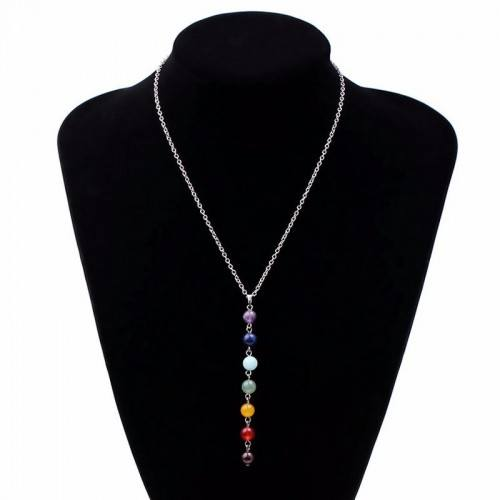 Necklace - Healing 7 Chakra Natural Stones - Multicolor 1