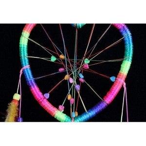 Attrape Rêve - Coeur - Arc-En-Ciel - Multicolore 2