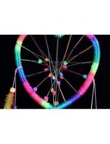 Traumfänger - Herz - Regenbogen - Mehrfarbig 2