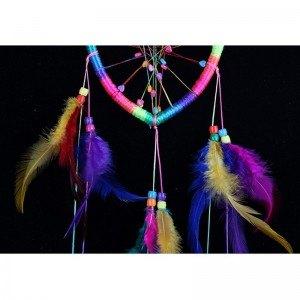 Attrape Rêve - Coeur - Arc-En-Ciel - Multicolore 3