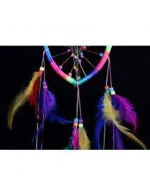 Apanhador de sonhos - Coração - Arco-íris - Multicolor 3