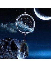 Apanhador de sonhos - Design pequeno - Carro ideal - Cinza 2
