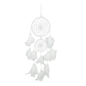 Catch Dream - Traditional - 2 - Circles- White 3