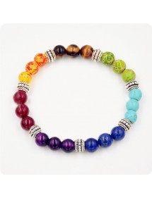 Multicolor 7 Chakra Brățării de vindecare 2