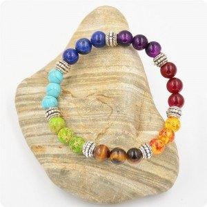 Brățară de vindecare 7 Chakra multicoloră 3