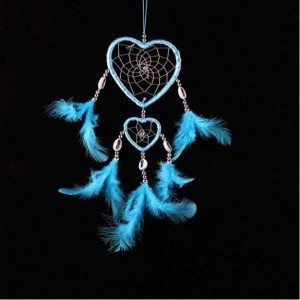 Attrape Rêve - Coeur - V2 - Bleu