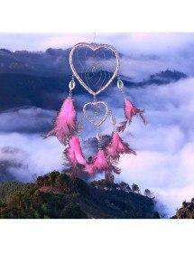 Attrape Rêve - Coeur - V2 - Rose 2