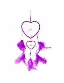 Attrape Rêve - Coeur - V2 - Violet