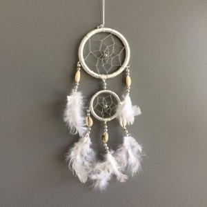 Prendere Sogno - Tradizionale - 2 - Cerchi - V3 - Bianco