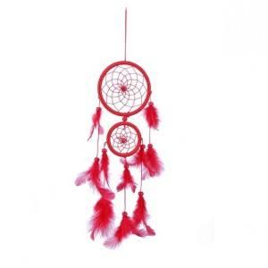 Prendere Sogno - Tradizionale - 2 - Cerchi - V3 - Rosso