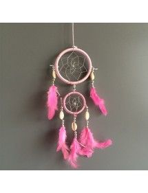 Catch Dream - Traditional - 2 - Circles- V3 - Light Pink