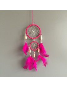 Catch Dream - Traditional - 2 - Circles- V3 - Pink Dark