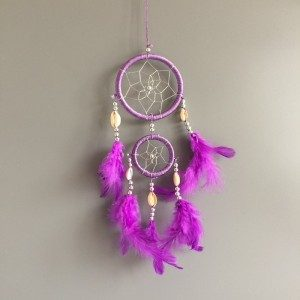 Catch Dream - Traditional - 2 - Circles- V3 - Purple