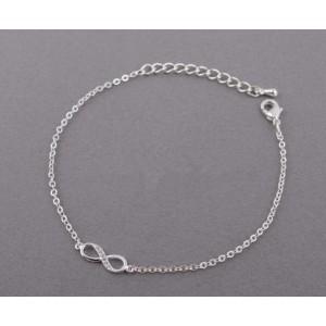 Apyrankė - begalybė - paprasčiausiai - sidabrinė