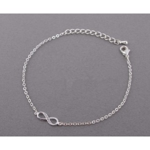 Bracelet - Infinity - Simply - Silver