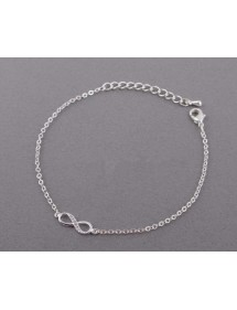 Armband, Unendlich - Simply - Silber