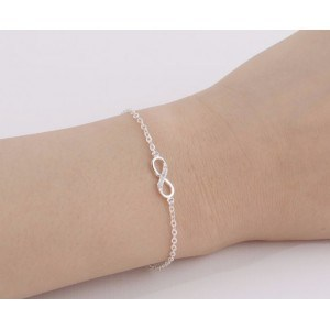 Bracelet - Infini - Simply - Argenté 2
