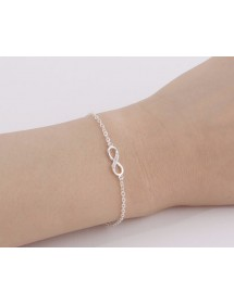 Armband - Infinity - Simply - Silber 2