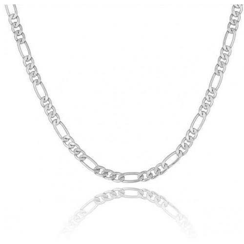 Halskette Männlich Kette Fein Silber