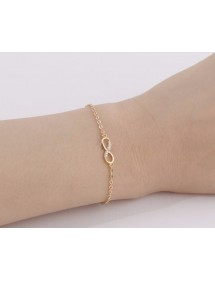 Bracelet - Infinity - Simply - Golden 2