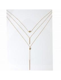 Collar - Multi-Fila - Es - Oro 2