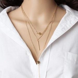 Collar - Multi-Fila - Es - Oro-3