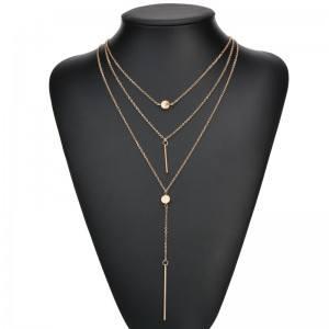 Collar - Multi-Fila - Es - Oro 4