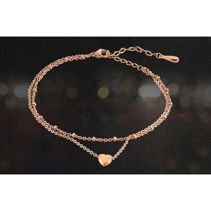 La cadena de Tobillo - Pequeño Corazón de Oro 3