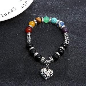 Armband - de Genezing van de 7 Chakra ' s - Hart - Multicolor 2