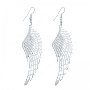 Earrings Wings Of Angels Silver