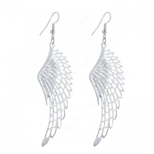 Earrings Wings Of Angels Silver