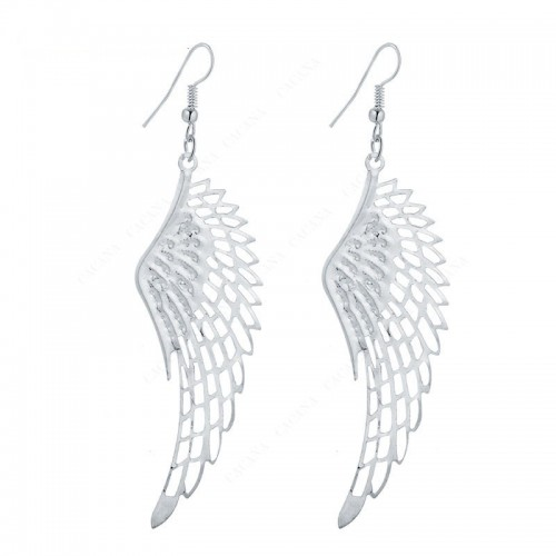 Ohrringe Flügel Engel Silber