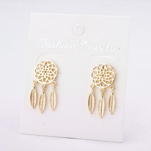 Earrings Catches Dream Premium Gold Color