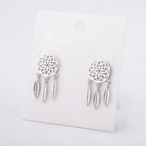 Earrings Catches Dream Premium Silver Color