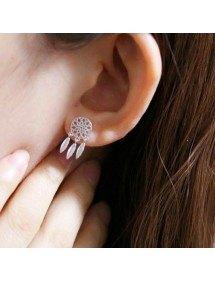 Earrings Catches Dream Premium Silver Color 2