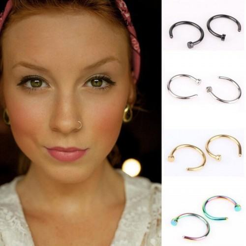 Piercings - Fake-Rings - Nose/Ear - Lot of 4