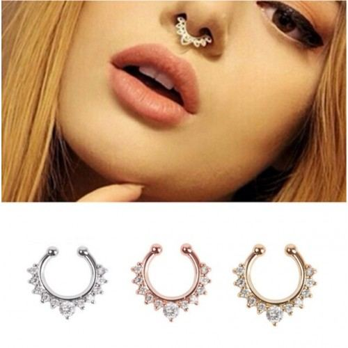 Piercings - Fake-Rings - Nose - pack of 3