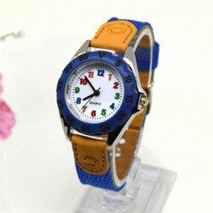 Relógio De Criança Menino - Simplesmente - Azul