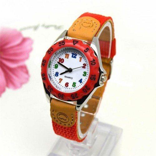 Reloj Niño, Muchacho - Simplemente - Rojo