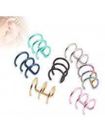 Piercings - Fake Clips - Ear - set of 7