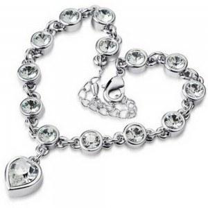 Bracelet - Coeur De L'Océan - Titanic V2 - Argenté/Blanc